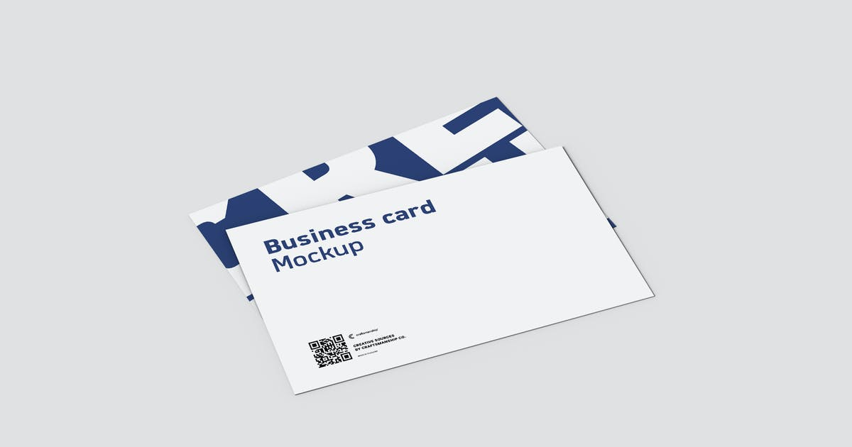 Download 45 Degree Double Business Card 8.9x5.6cm by crftsco