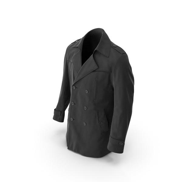 Мужское Пальто Черное