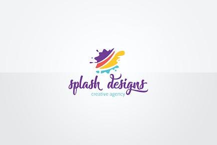Splash Logo Template