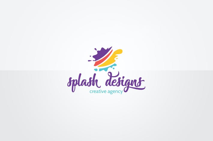 Thumbnail for Splash Logo Template