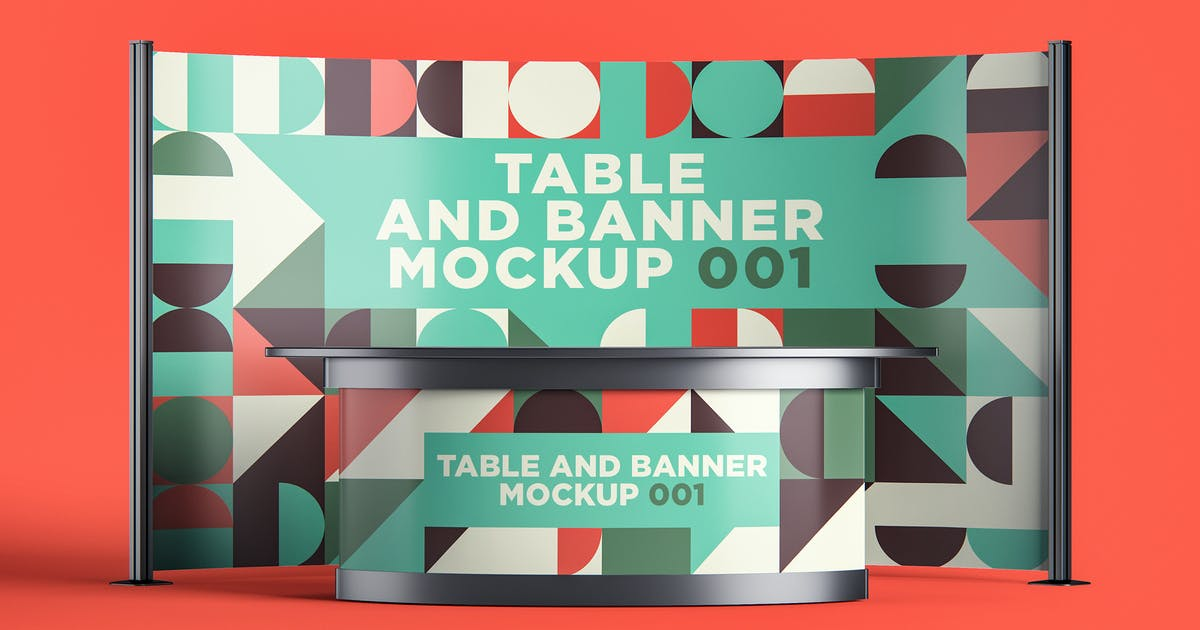 Download Table and Banner Mockup 001 by traint