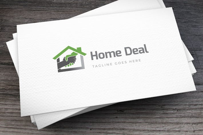 Cover Image For Home Deal Logo Template