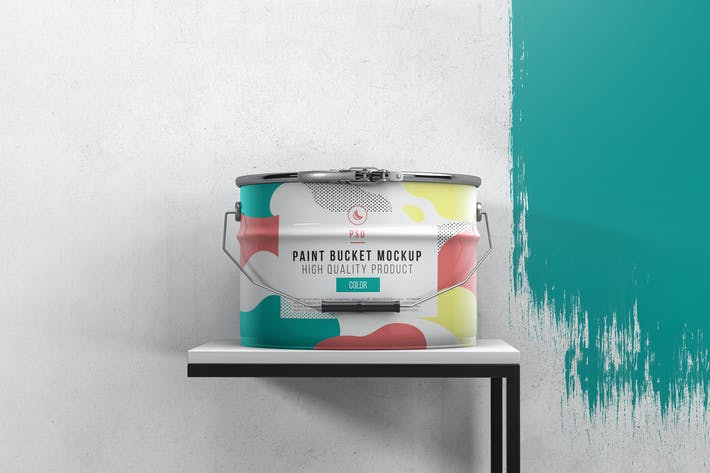 Thumbnail for Paint Bucket  Mockup