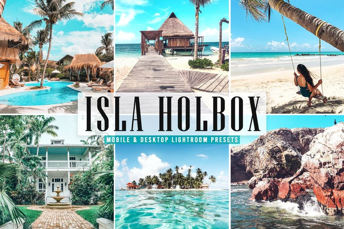Thumbnail for Isla Holbox Mobile & Desktop Lightroom Presets