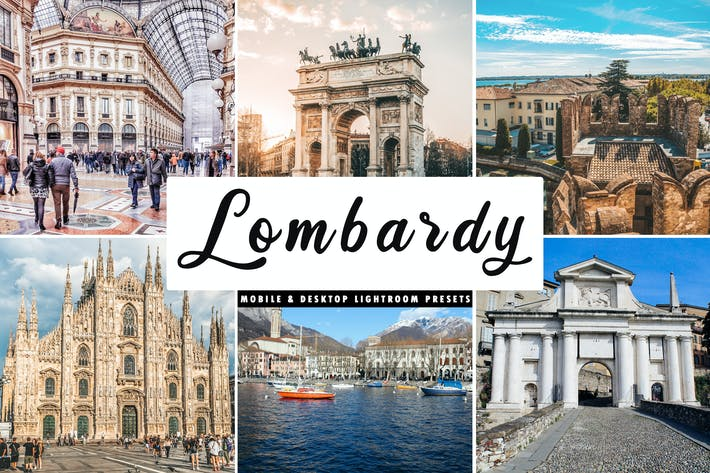 Thumbnail for Lombardy Mobile & Desktop Lightroom Presets