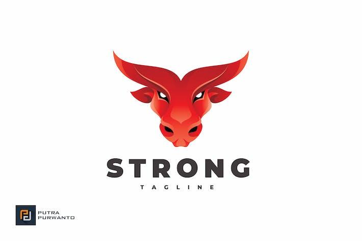 Thumbnail for Strong Bull - Logo Template