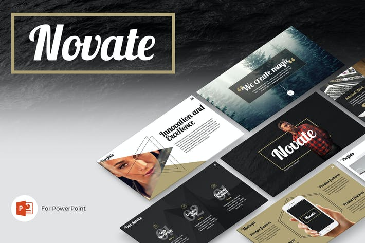 Thumbnail for Novate PowerPoint Presentation Template