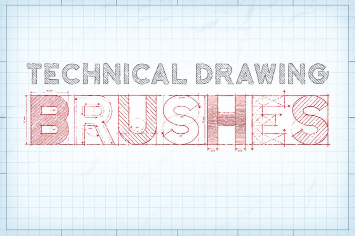 Thumbnail for Technical Drawing Brushes