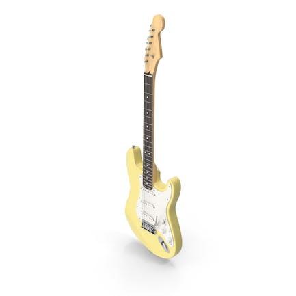 Yellow Electric Guitar