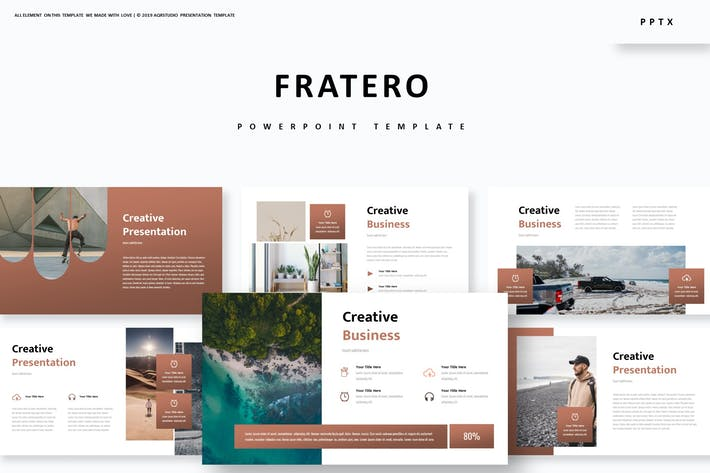 Cover Image For Fratero - Powerpoint Template
