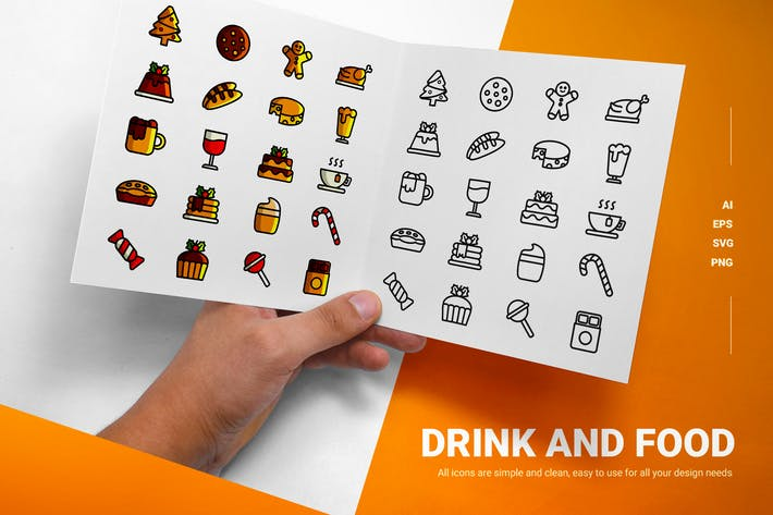 Thumbnail for Drink and Food - Icon