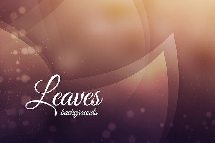 Thumbnail for Abstract Leaves Backgrounds