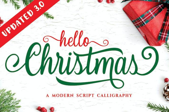 Thumbnail for Noël - Police de calligraphie moderne