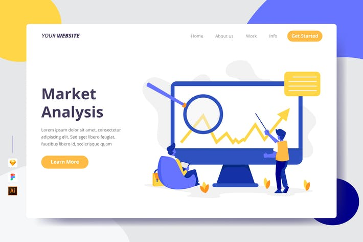 Thumbnail for Market Analysis - Landing Page