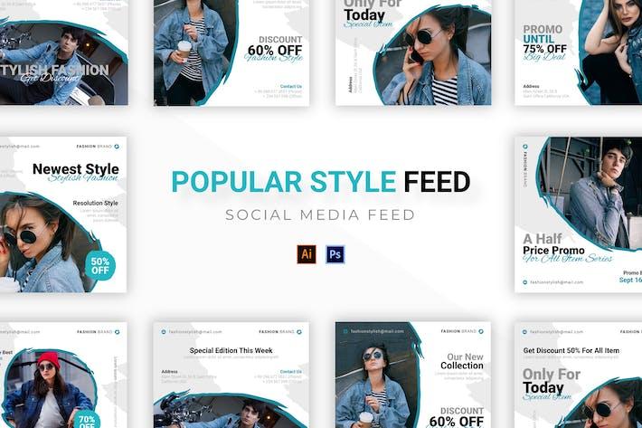 Thumbnail for Popular Style Socmed Post