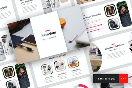 Function - IT Company PowerPoint Template