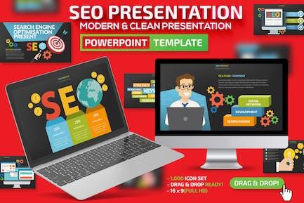SEO Поисковая система Powerpoint Презентация
