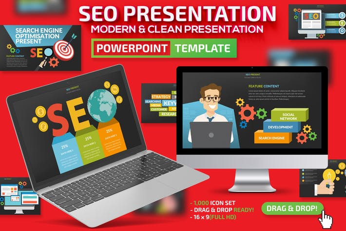 Thumbnail for SEO Search Engine Powerpoint Presentation
