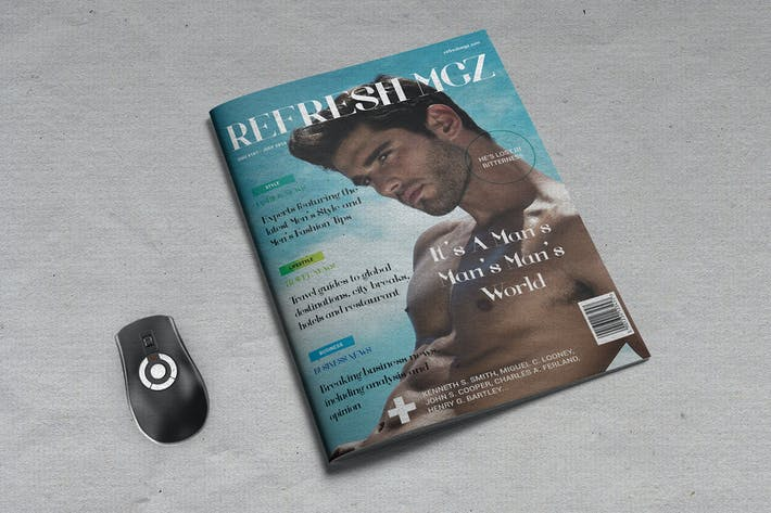 Thumbnail for Refresh Men's Lifestyle Magazine