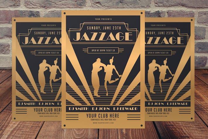 Thumbnail for Folleto de la Fiesta de la Edad del Jazz