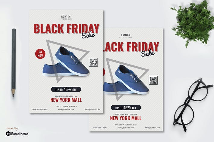 Thumbnail for Black Friday Sale - Promotion Flyer RB