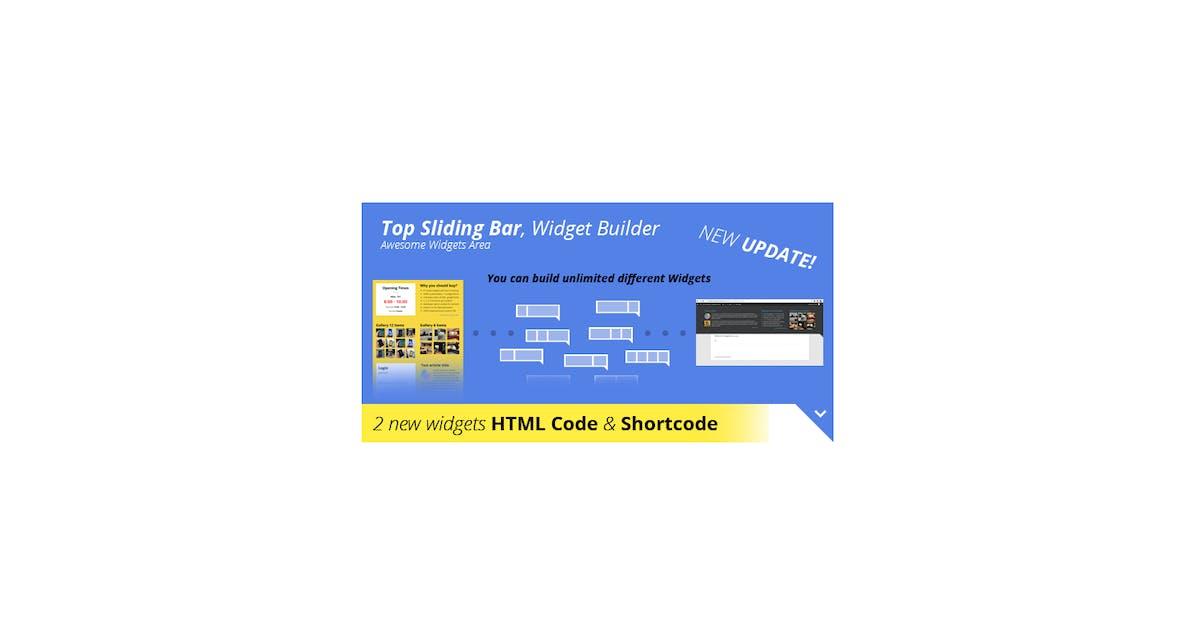 Download Top Sliding Bar - WordPress Widgets by scripteo