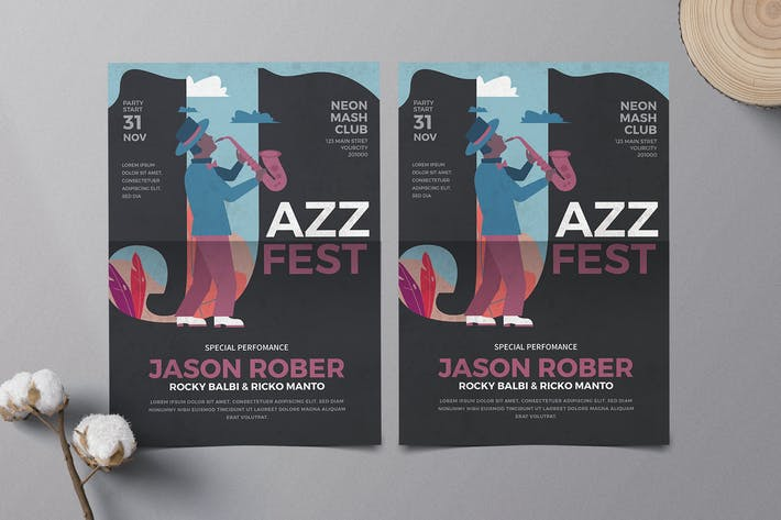 Cover Image For Jazz Fest Flyer