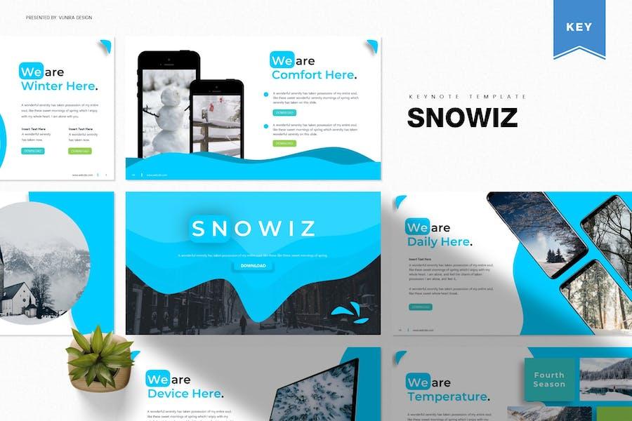 Snowiz | Keynote Template