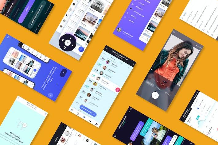 Mockup Презентация мобильных Приложение