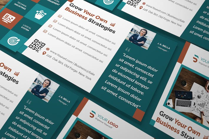 Thumbnail for Corporate, Business A5 Flyer
