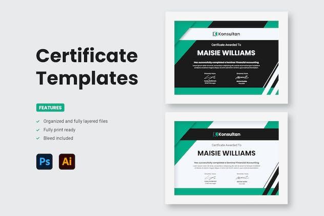 Certificate - Konsultan 4
