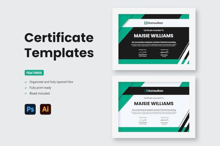Thumbnail for Certificate - Konsultan 4