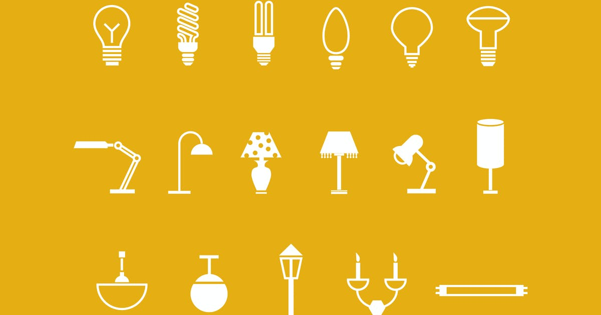 Download 18 Lamp and Light Icons by Unknow