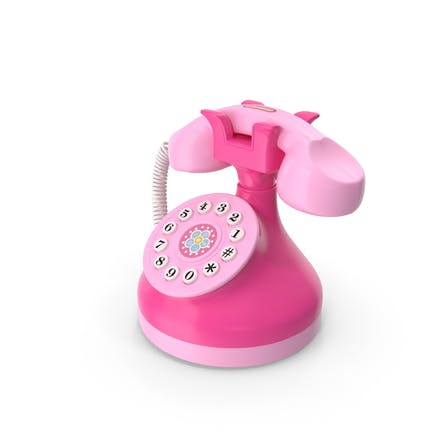 Toy Phone Pink