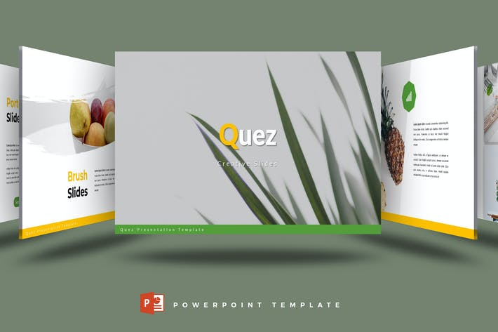 Thumbnail for Quez - Powerpoint Template