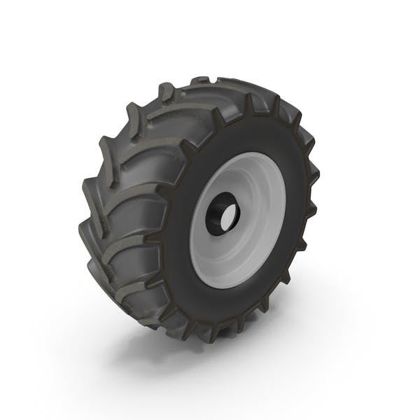 Thumbnail for Tractor Wheel