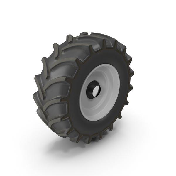Тракторное колесо