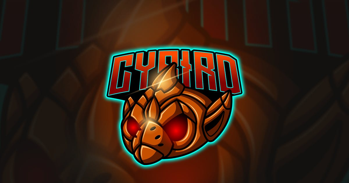 Download Cybird - Mascot & Esport Logo by aqrstudio