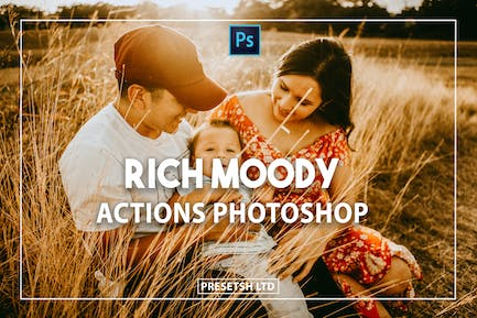 Rich Moody Photoshop Actions