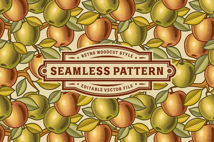 Thumbnail for Seamless Apple Pattern