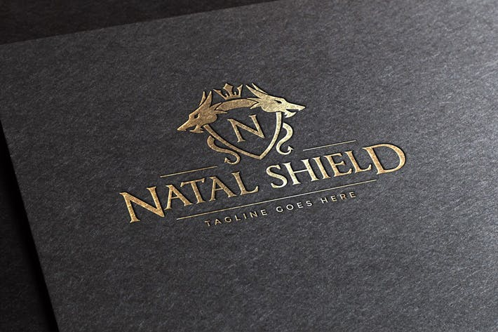 Cover Image For Natal Shield Logo Template