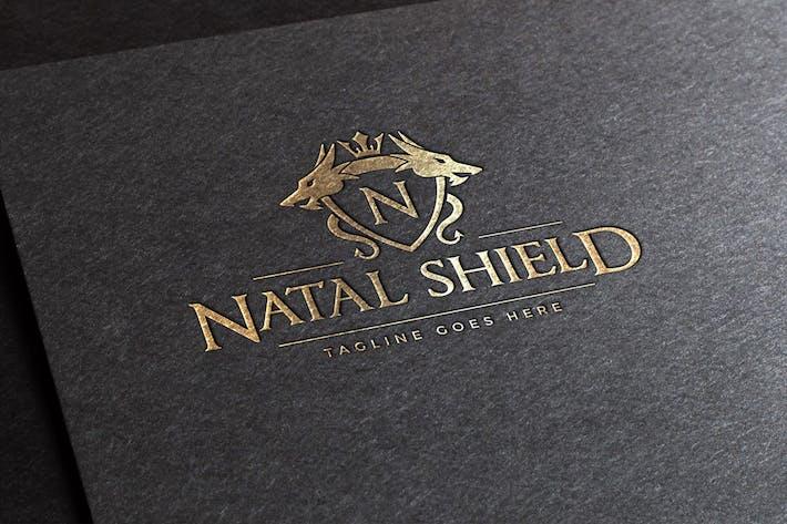 Thumbnail for Plantillas de logotipos de Natal Shield