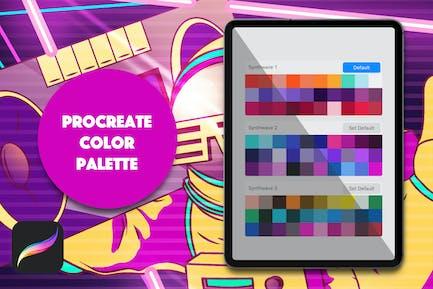 Procreate Palette - Synthwave