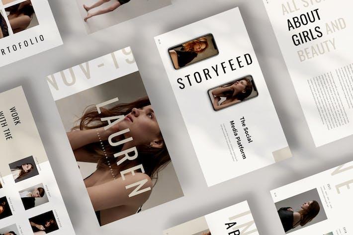 Thumbnail for Lauren Google Slides