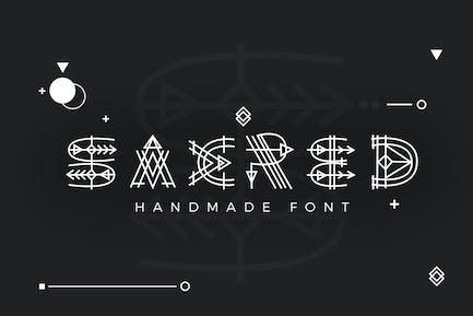 Paraoh - Sacred Font