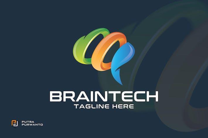 Thumbnail for Braintech / Brain - Logo Template