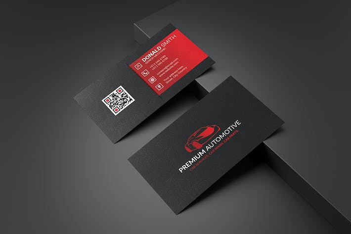 Thumbnail for Business Card Template V.3