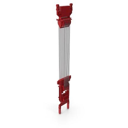 Crane Spool Connector Red