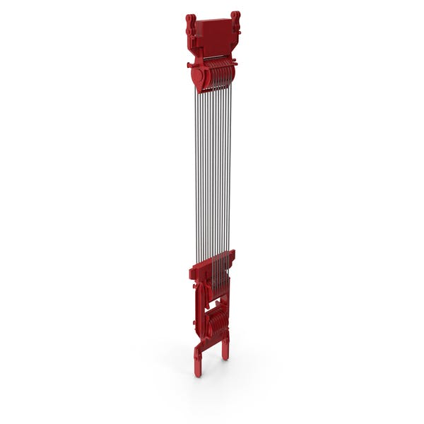 Crane Spool Connector Red