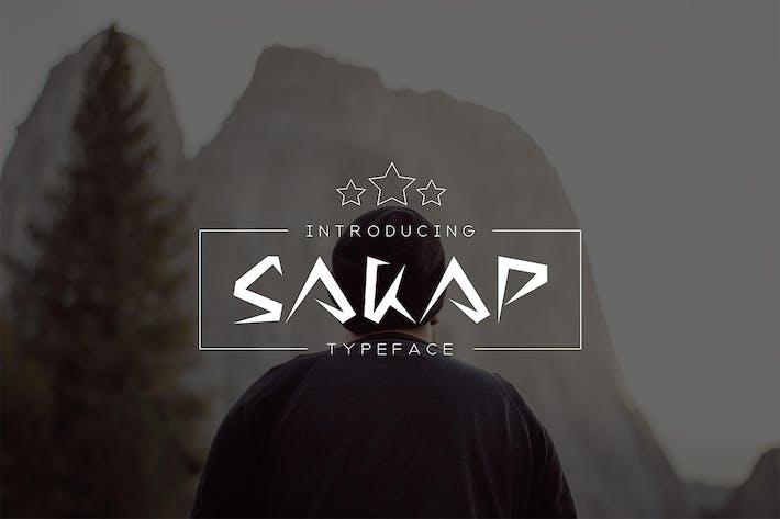 Thumbnail for Sakap Tipo de letra